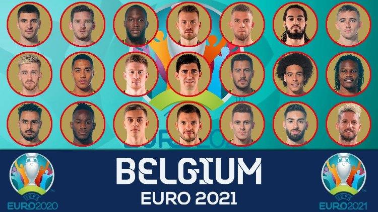 Euro 2021 BELGIUM Squads List