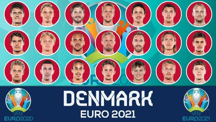 Euro 2021 DENMARK Squads List