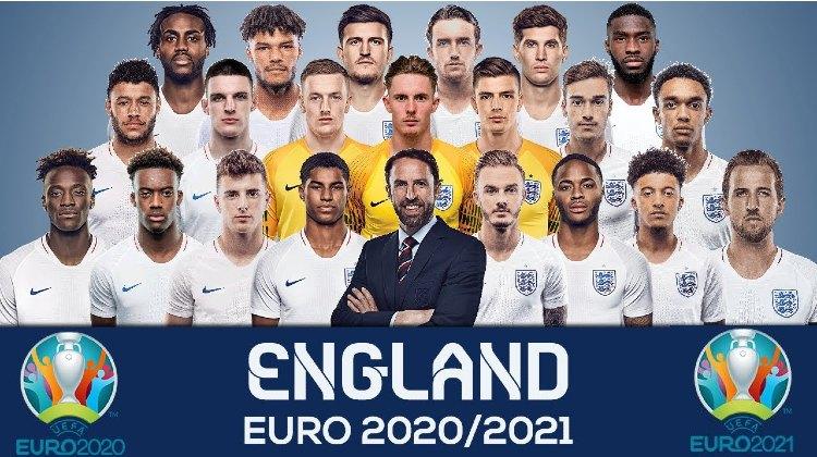 Euro 2021 ENGLAND Squads List