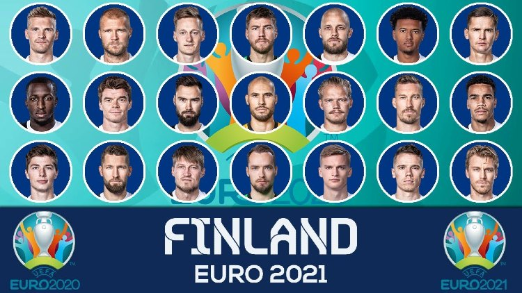 Euro 2021 FINLAND Squads List