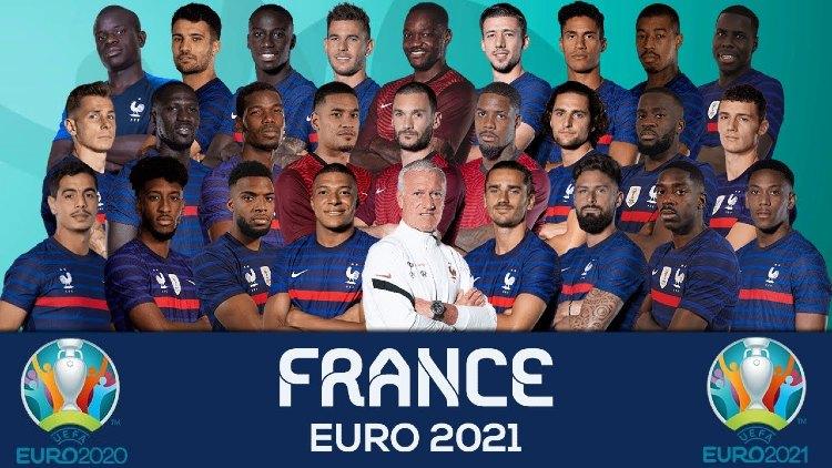 Euro 2021 France Squads Full List