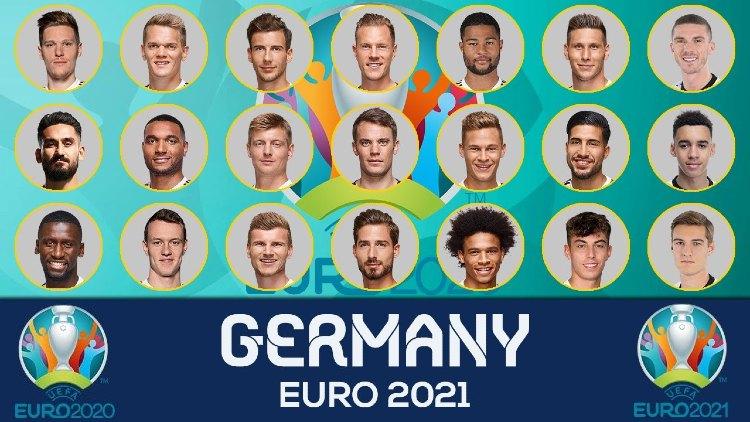 Euro 2021 Germany Squads Full List