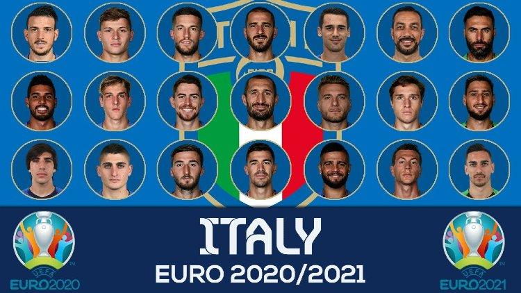 Euro 2021 ITALY Squads List