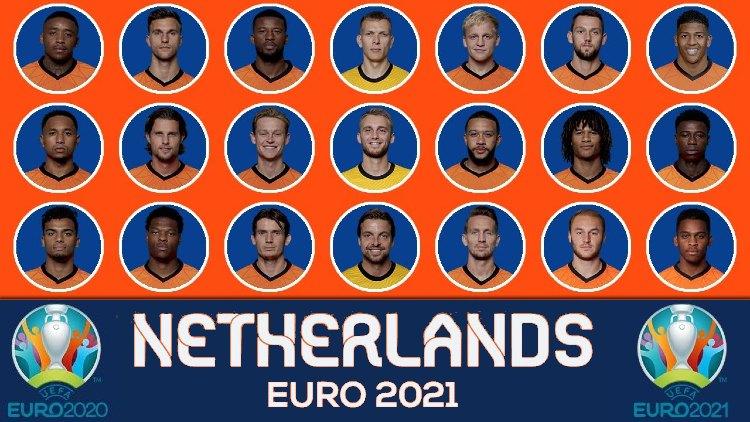 Euro 2021 NETHERLAND Squads List