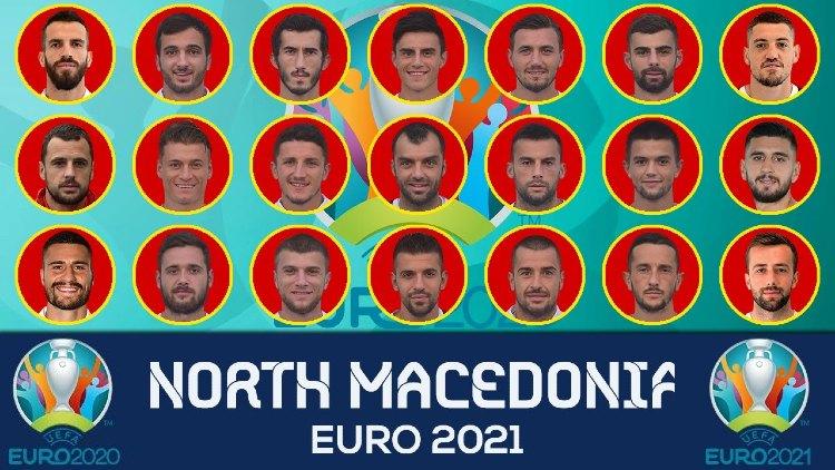 Euro 2021 NORTH MACEDONIA Squads List