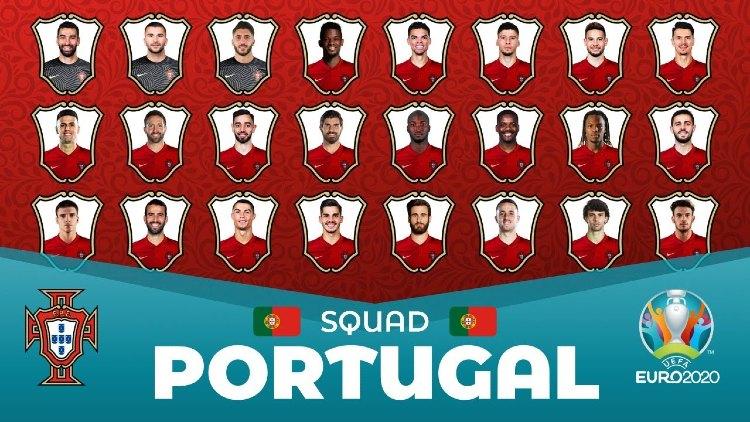 Euro 2021 Portugal Squads Full List