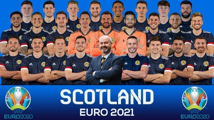 Euro 2021 SCOTLAND Squads List