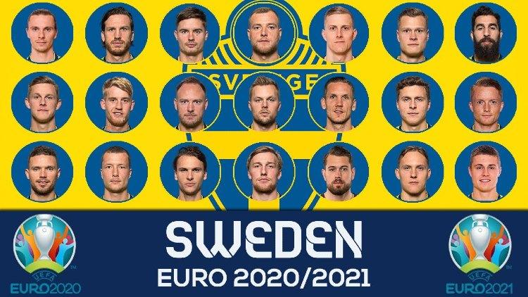 Euro 2021 SWEDEN Squads Full List