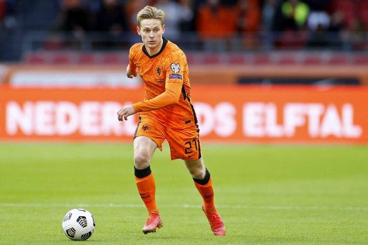 Frenkie De Jong (Barcelona and Netherlands)- euro 2020 live