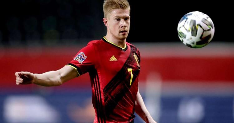 Kevin De Bruyne (Man City and Belgium)- Euro 2020 Live