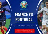 Where & How to Watch France vs Portugal Live Stream UEFA Euro 2021_