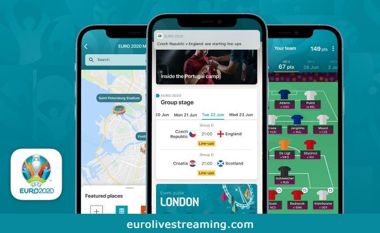 Euro 2020 Live Stream Mobile App